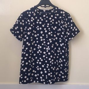 & Other Stories Polka Dot Blouse